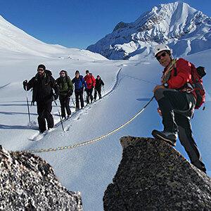 Ski Tourenbild als Symbol für Angebote